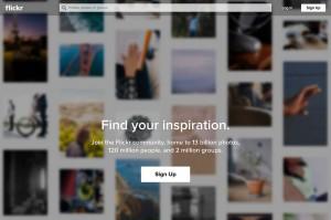 世界で一番利用されている写真共有サイトのFlickr(フリッカー)