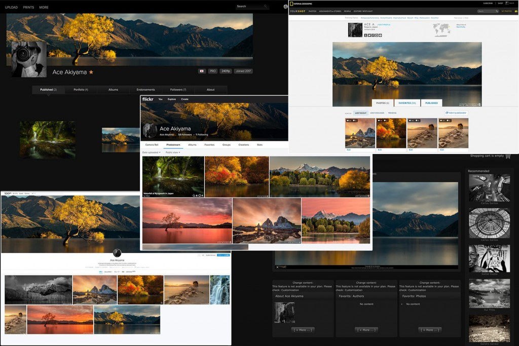 風景写真が上手くなるための写真投稿サイトを比較