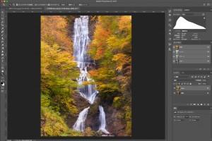 Photoshopの色相・彩度で綺麗な紅葉の写真を作る方法