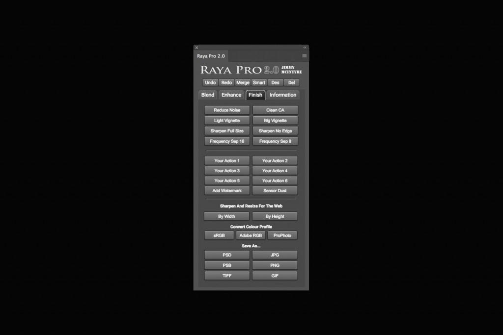 Raya Pro 2.0 フィニッシュ
