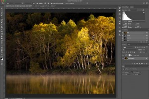 Photoshopの色域指定で選択範囲を作る(シャドー編)