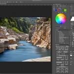 Photoshopで風景写真の色を簡単に置き換える方法