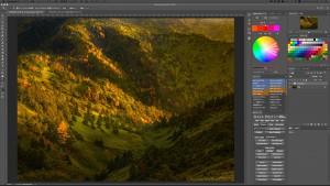 toshopで風景写真をクリアな空気感にRAW現像する方法