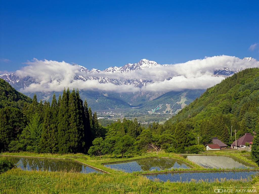 白馬村の青鬼集落は観光や撮影におすすめの集落