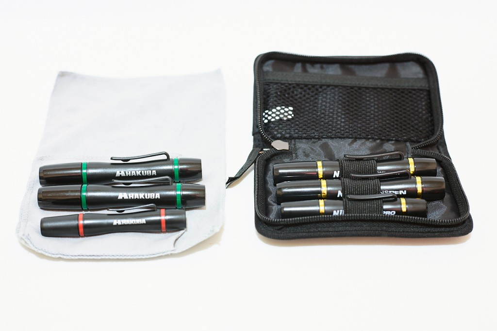 カメラのレンズやフィルターを掃除するレンズペンはおすすめ