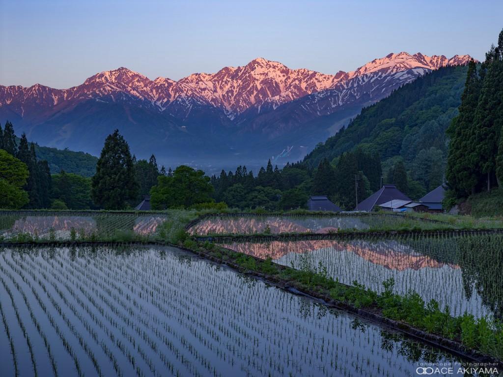 長野県北安曇郡白馬村に位置する日本の伝統的な青鬼集落