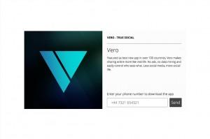 Veroは話題のソーシャルメディアアプリ